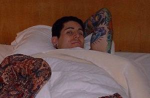 Davey....in bed!
