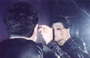 Davey....in makeup!