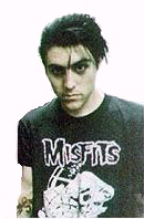 Davey....in a Misfits t-shirt!